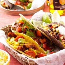 Taco Salad Tacos recipe
