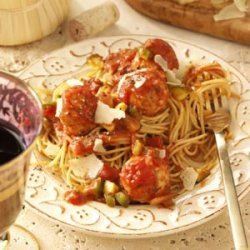 Turkey Meatballs and Sauce recipe
