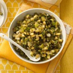 Zucchini Salsa Verde recipe