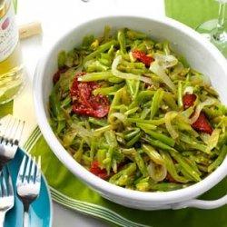Zesty Garlic Green Beans recipe