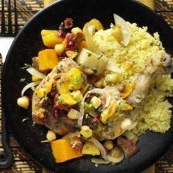 Moroccan Vegetable Chicken Tagine recipe