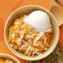 Baked Sweet Potato Pudding recipe