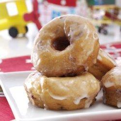 Sweet Potato-Cranberry Doughnuts recipe