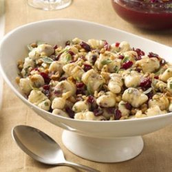 Cranberry Ricotta Gnocchi with Brown Butter Sauce recipe