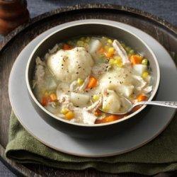 Momma's Turkey Stew with Dumplings recipe