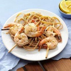 Grilled Shrimp with Lemon Vinaigrette recipe