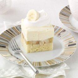 Bananas & Cream Pound Cake recipe