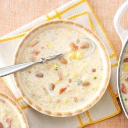 Hearty Quinoa & Corn Chowder recipe