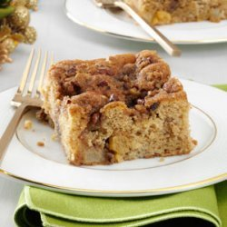 Winter Fruit Coffee Cake recipe