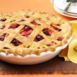 Cranberry-Apple Lattice Pie recipe
