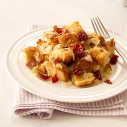 Gruyere & Prosciutto Strata recipe