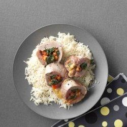 Southwest Stuffed Pork Tenderloin recipe
