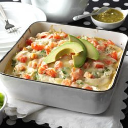 Salsa Verde Chicken Casserole recipe