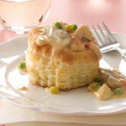 Pastry Chicken a la King recipe