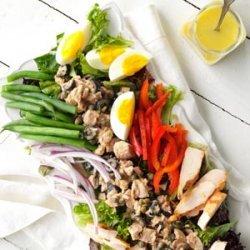 Chicken Nicoise Salad recipe