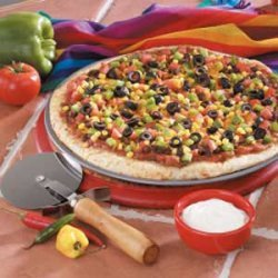 Mexican Vegetable Pizza recipe