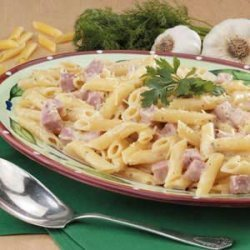 Ranch Ham 'n' Cheese Pasta recipe