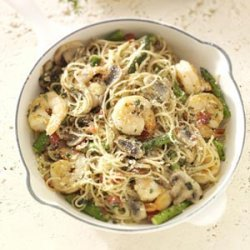 Shrimp Pasta Primavera recipe