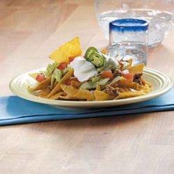 Microwave Texas Nachos recipe