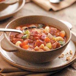 Simple Sausage Minestrone recipe