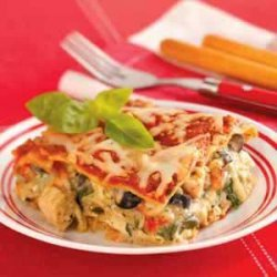 Pesto Chicken Lasagna recipe