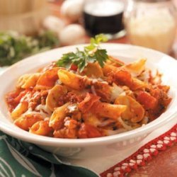 Meaty Pasta Casseroles recipe