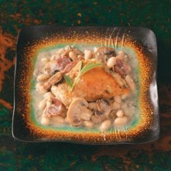 Chicken Saltimbocca with Mushroom Sauce recipe