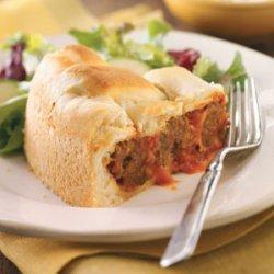 Italian Meatball Tortes recipe