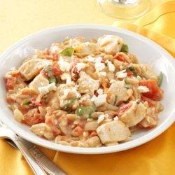 Chicken in Tomato-Basil Cream Sauce recipe