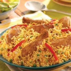 Arroz con Pollo - Chicken & Rice recipe