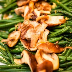 Green Beans with Shiitake Mushrooms recipe