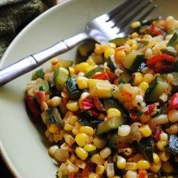 Summer Vegetable Succotash recipe