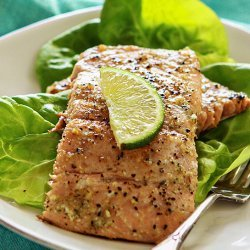 Glazed Grilled Salmon recipe