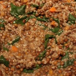 Curried Lentil and Spinach Soup recipe
