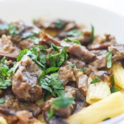 Osso Buco with Mushroom Sauce recipe