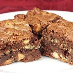 Peanut Butter Brownies I recipe