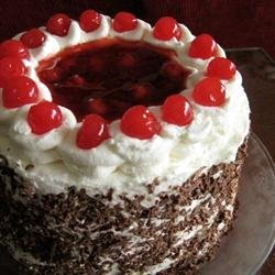Jenny's Black Forest Cake recipe