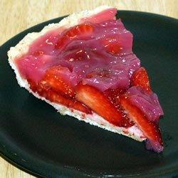 Big Guy Strawberry Pie recipe