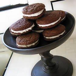Chocolate Sandwich Cookies II recipe