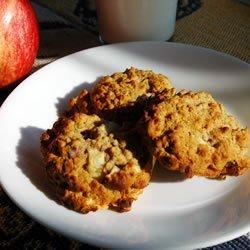 Apple Oatmeal Cookies II recipe