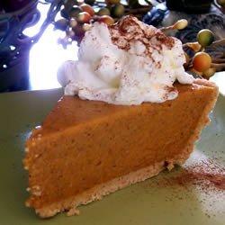 No Bake Pumpkin Pie I recipe