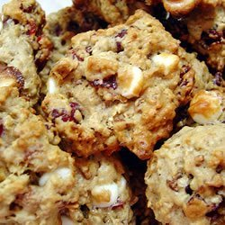 Oatmeal Cranberry White Chocolate Chunk Cookies recipe