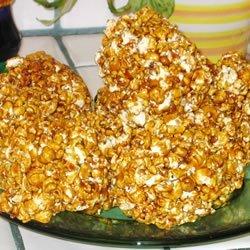 Grandpa's Popcorn Balls recipe