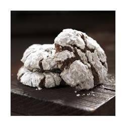 Chocolate Crackled Cookies recipe