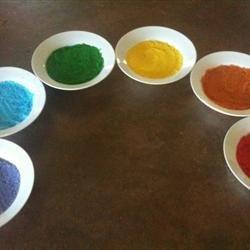 Colored Sugar recipe