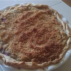 Raspberry Sour Cream Pie recipe