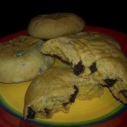 Egg Free Chocolate Chip Pumpkin Cookies recipe