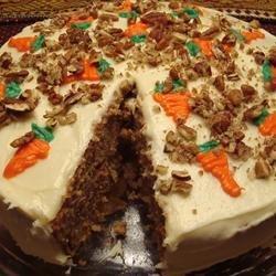 Carrot Cake I recipe