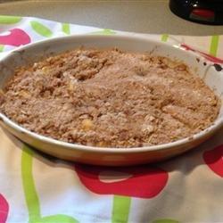 Peach Crisp III recipe