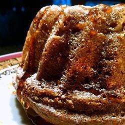 Apple Honey Bundt Cake recipe